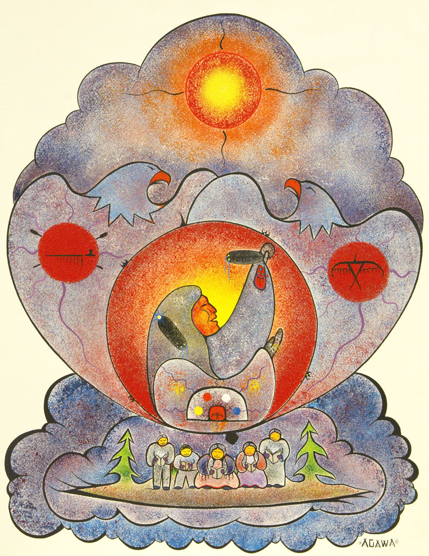 """""""Shingwauk's Vision"""" by Jesse Agawa"""